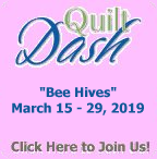 Join us in March at Quilt Dash to Participate in a fun game where you could wil this instantly downloadable quilt pattern.